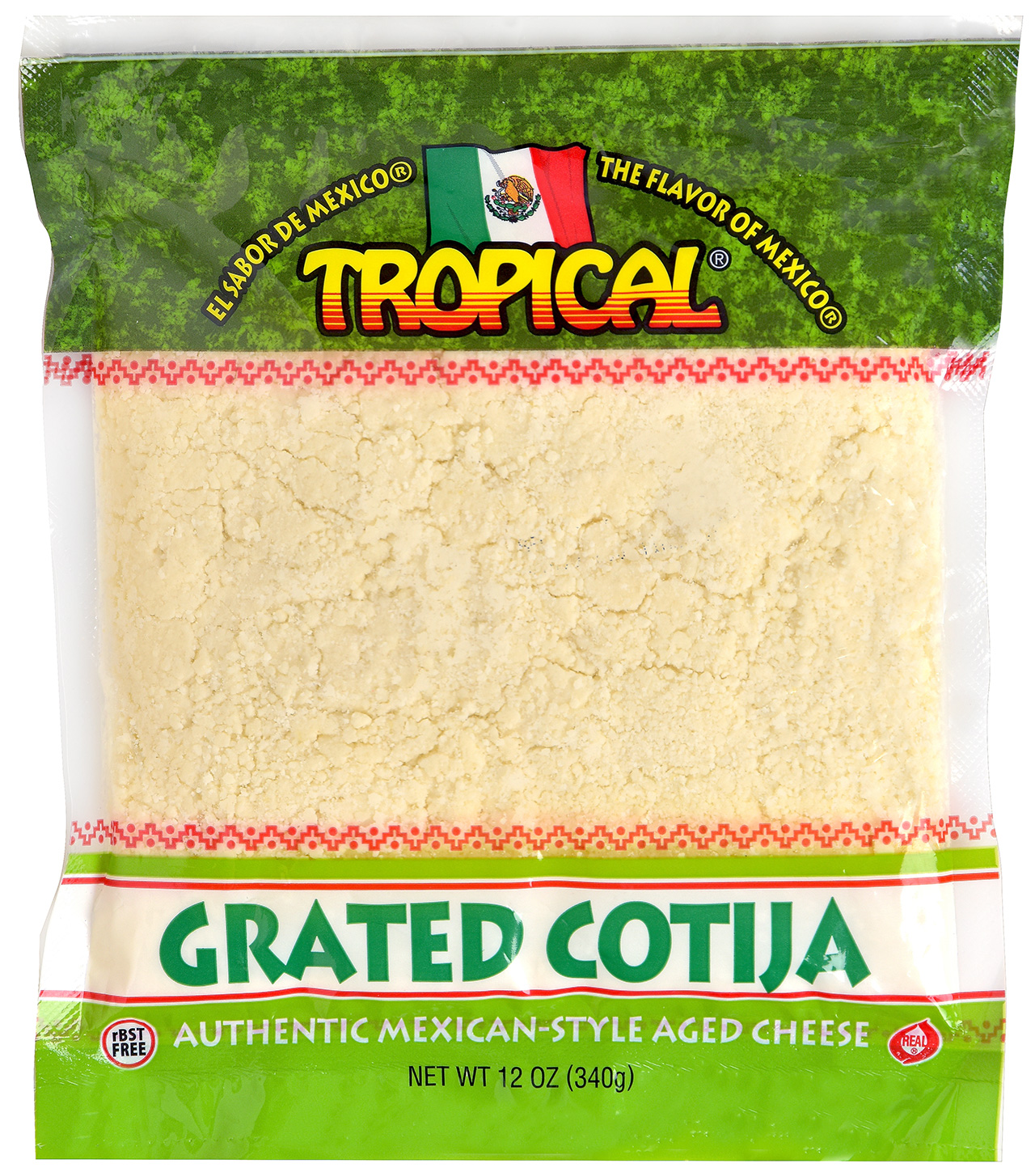 Grated Cotija Cheese Tropical Cheese