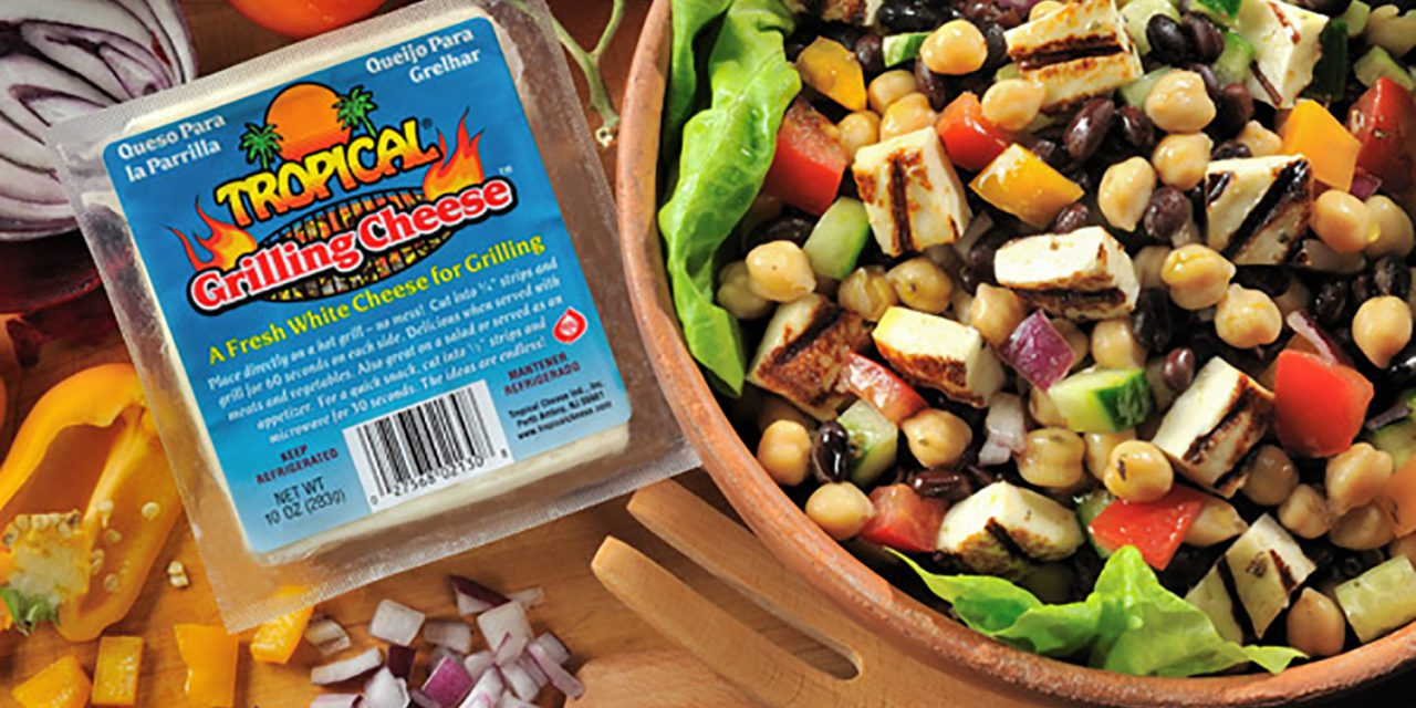 Grilled Cheese & Bean Salad