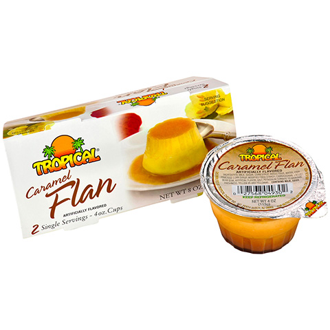 Caramel Flan Twin Pack
