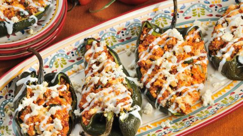 Cheesy Stuffed Peppers