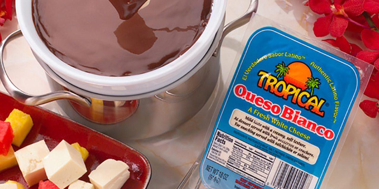 Chocolate and Queso Blanco Fondue
