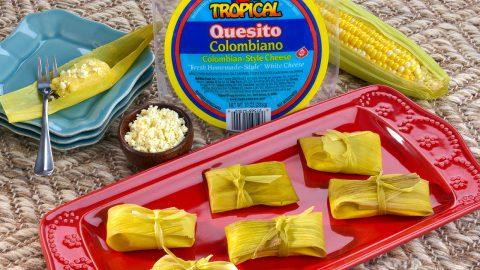 Colombian Corn Cakes (Envuelto de Maíz)