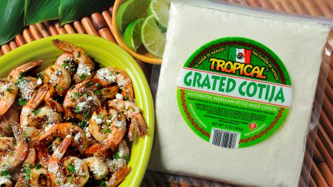 Cotija Grilled Shrimp