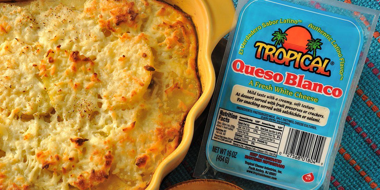 Layered Potato and Cheese Casserole