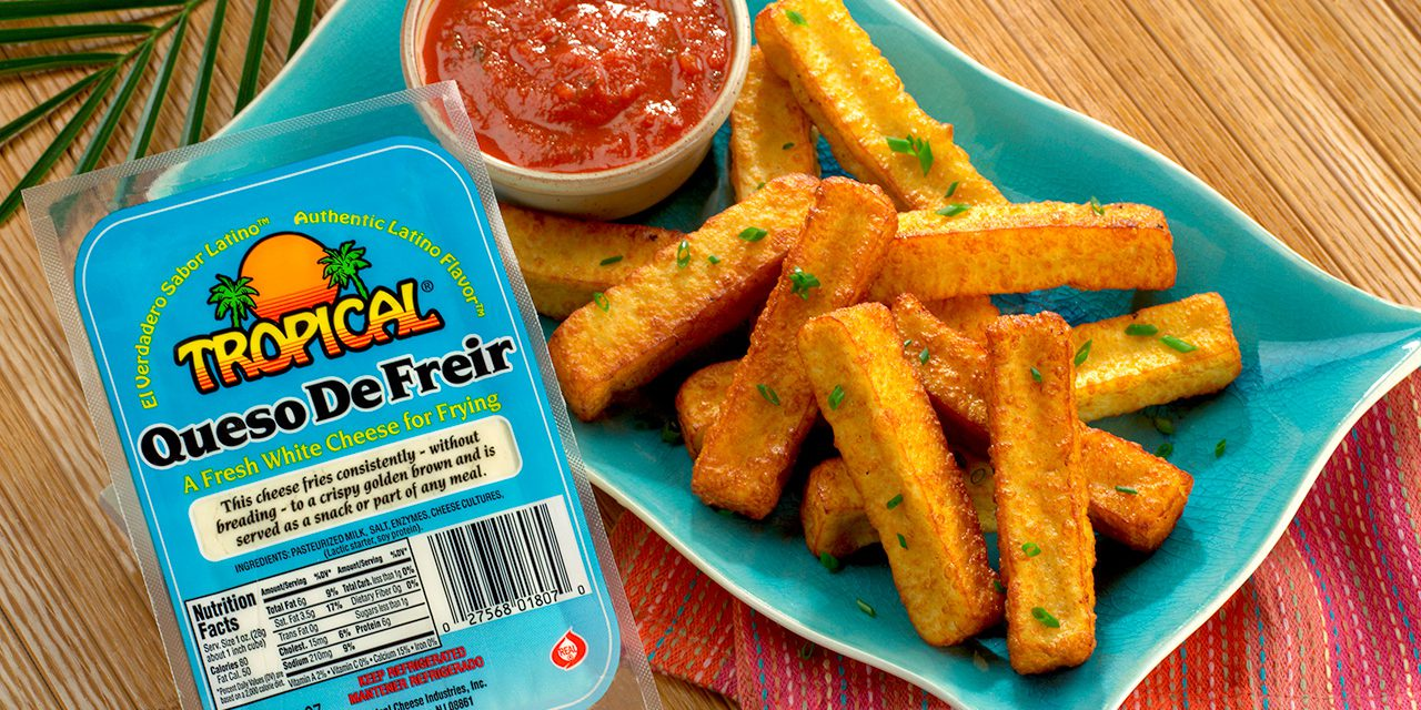 Queso de Freír Sticks with Marinara Sauce