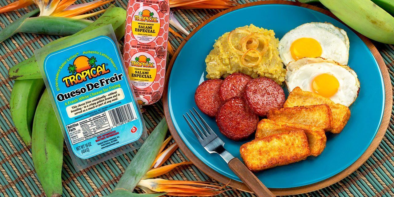 Traditional Dominican Breakfast