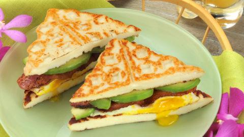 Freir Waffle Breakfast Sandwich