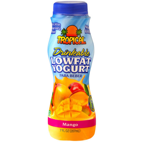 Mango Low-Fat Yogurt