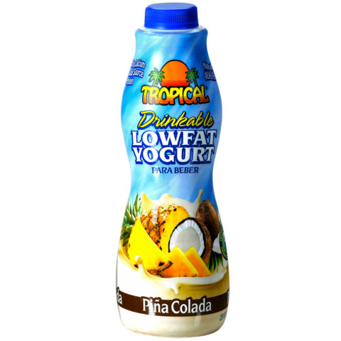 Piña Colada Low-Fat Yogurt Family-Size