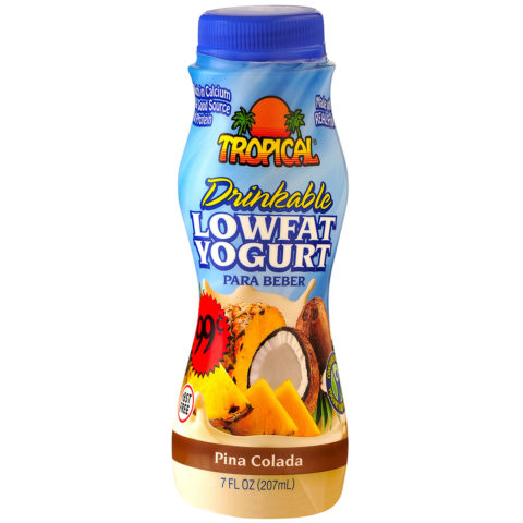Piña Colada Low-Fat Yogurt