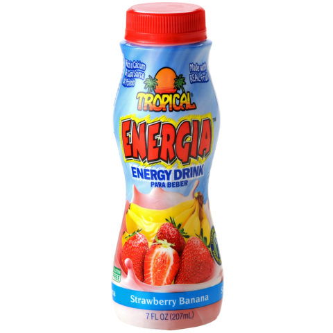 Strawberry Banana Energy Drink