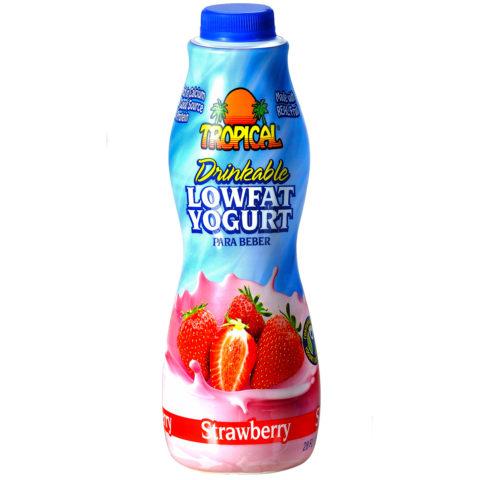 Strawberry Low-Fat Yogurt Family-Size