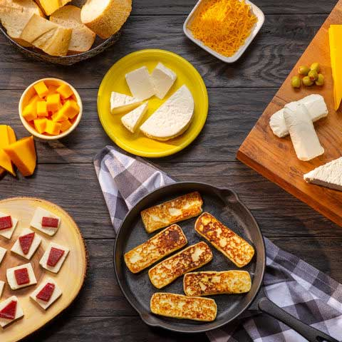 Ideas to spice up your favorite dishes with Tropical cheeses
