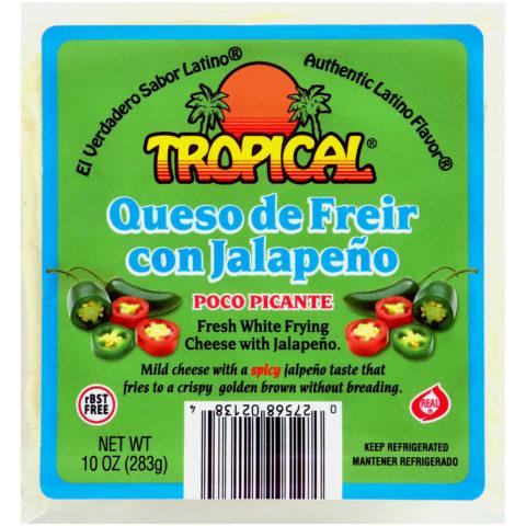 Queso de Freír con Jalapeño