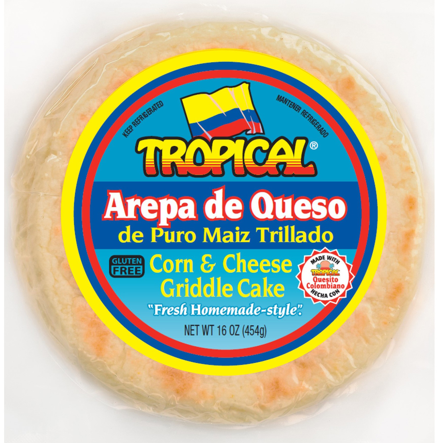 Arepa De Queso Tropical Cheese