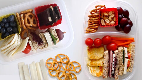 3 Snack or Lunch Ideas