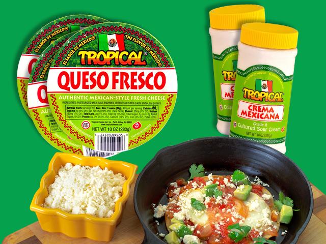 Paquete de sabor mexicano