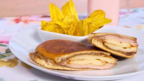 Sandwich Elena Ruz con Queso Frito
