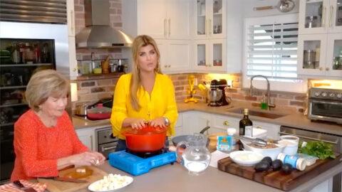 Cocinando con mamá y para mamá