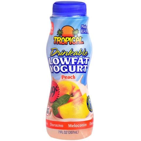 Peach Low-Fat Yogurt